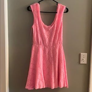 Juniors Pink Dress